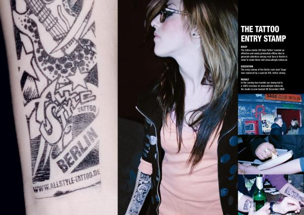 Штампы - новый тренд в партизанской рекламе салонов красоты