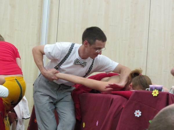 Чемпионат мира по СПА массажу, финал в Москве 29 ноября 2013 года