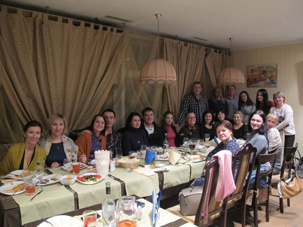 Вторая встреча Космо-Эксповцев в Москве