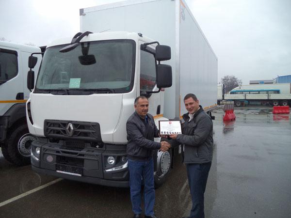 В Краснодаре впервые в России был продан грузовик Renault Trucks D-серии