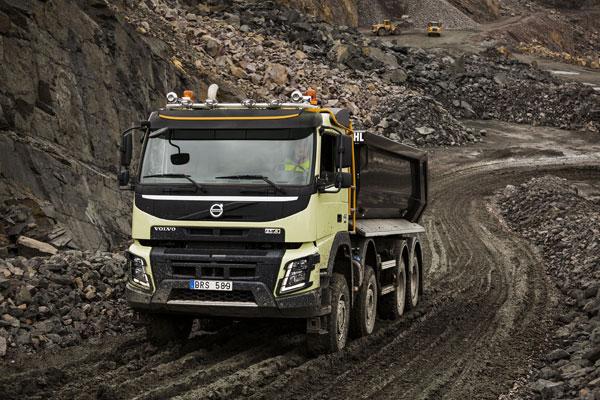 Новая автоматическая система для строительных грузовиков от Volvo Trucks