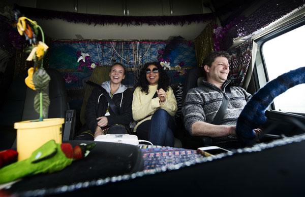 Реалити-шоу: 9 дней певицы Mapei и Volvo Trucks