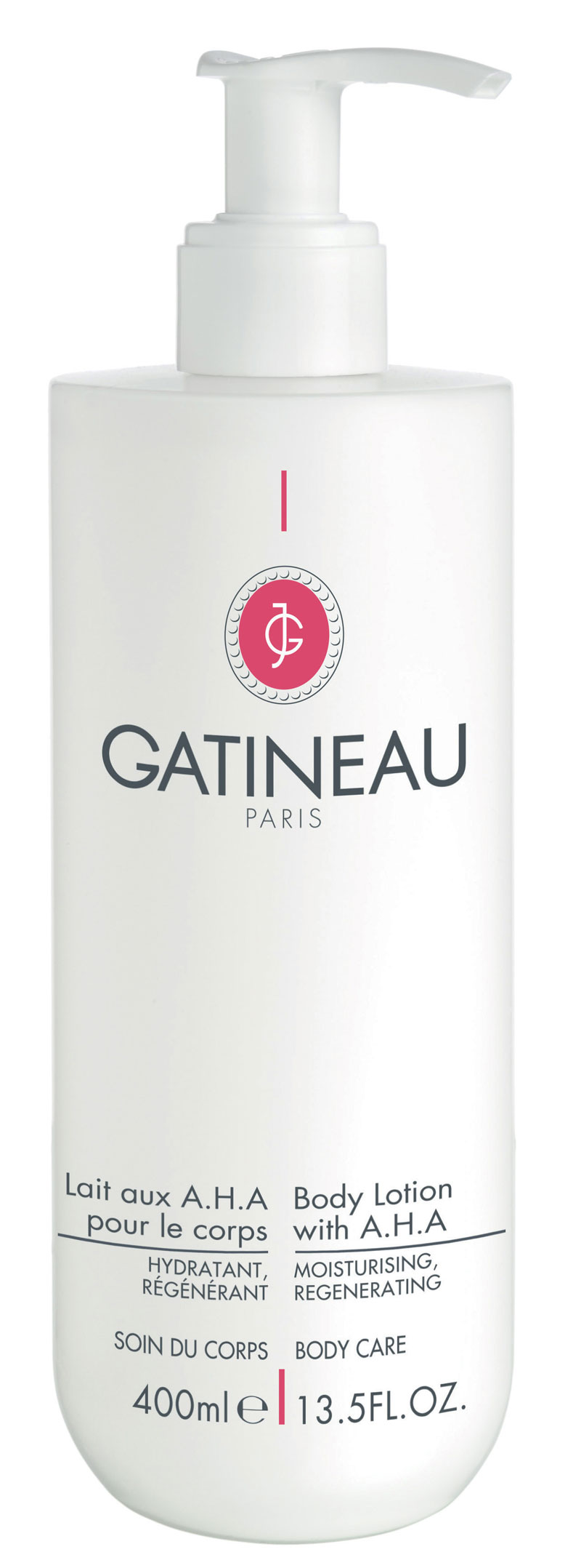 GATINEAU (PARIS) представляет BODY LOTION WITH A.H.A.