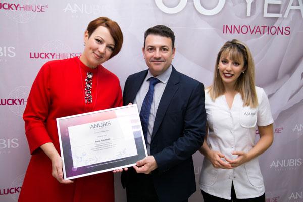 35 years innovations: бренд Anubis Barcelona отпраздновал свой юбилей в Краснодаре