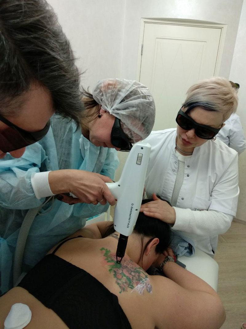 Лазерные технологии в эстетической медицине