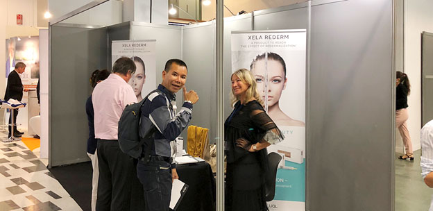 Institute Hyalual в Париже на 39th National Congress of Aesthetic Medicine and Dermatologic Surgery