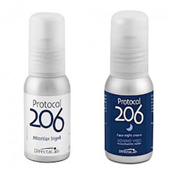 Ботулоимитирующий комплекс от DirectaLab: Protocol 206 Anti-age Miorilax Bigel + Protocol 206 Face Night Cream