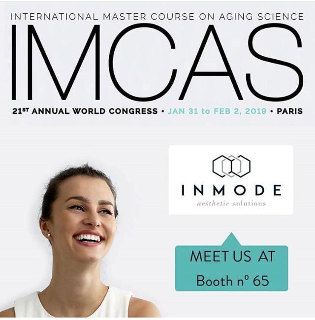 Будете в Париже? Загляните на IMCAS World Congress 2019