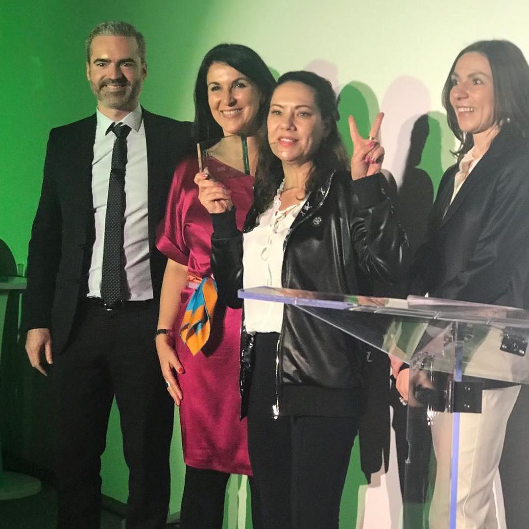 Компания Guinot Россия привезла из Париже две награды