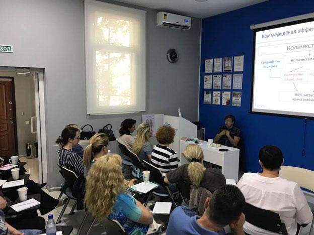 Бизнес-тренинг «Эффективные продажи услуг косметолога»