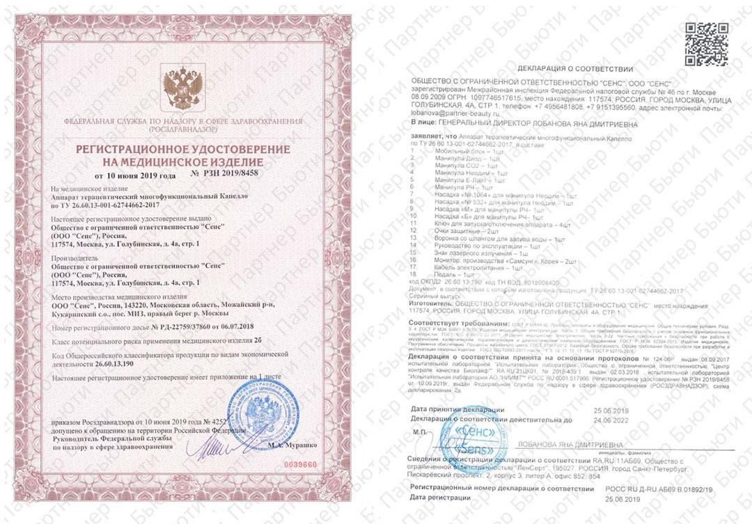 Какие должны быть документы для проведения лазерных процедур