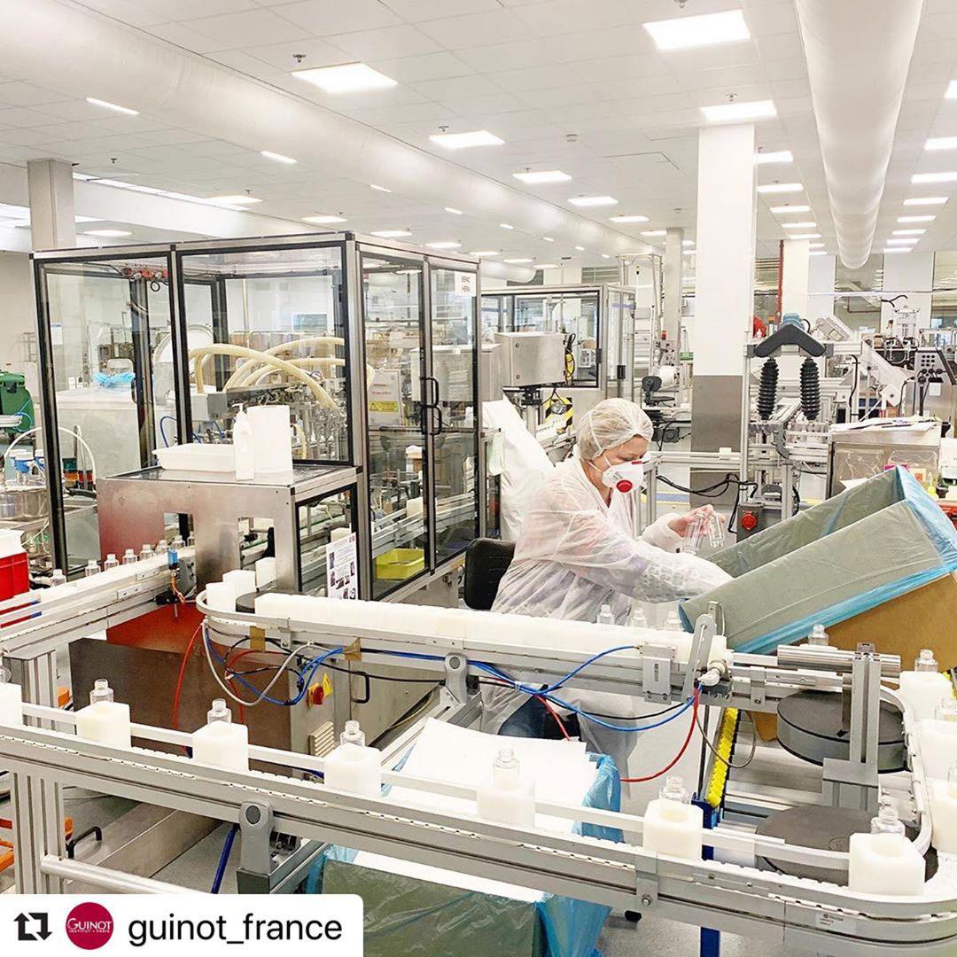 Лаборатории Guinot мобилизуются для борьбы с распространением коронавируса