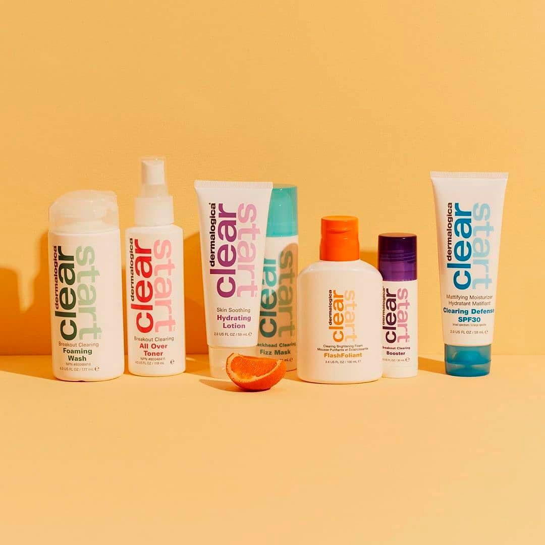 Clear Start - для молодой, склонной к воспалениям кожи