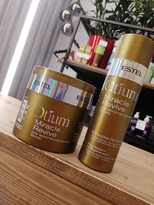 Разбор состава маски для восстановления волос OTIUM Miracle Revive от Estel