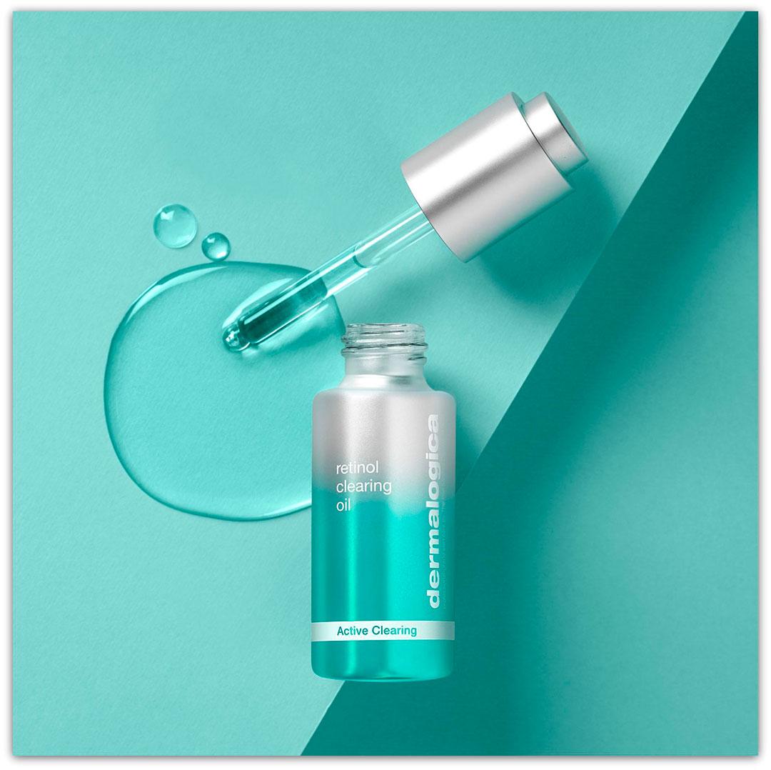 Активное очищающее масло с ретинолом от Dermalogica